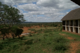 Foto aus einer Lodge im Tsavo Nationalpark ©  Karl Scheliessnig  www.scheliessnig.at
