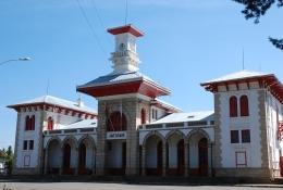 Der Bahnhof von Antsirabe