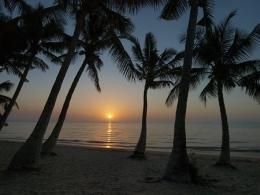 Sonnenuntergang in Madagaskar - Copyright: www.w-rusch.de