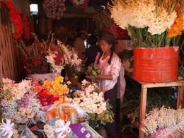 Auf dem Blumenmarkt in Antananarivo