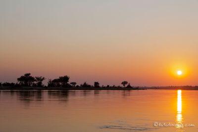 Sambesi im Mana Pools Nationalpark