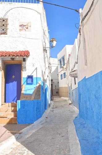 Schicke Gasse in Rabat