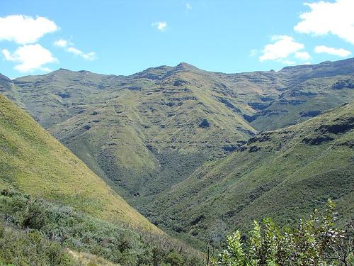 Wer hätte gedacht, dass es in Lesotho so grün ist?