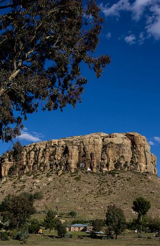 Landschaftlich reizvolles Lesotho