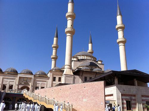 Die Al-Noor-Moschee im Sudan