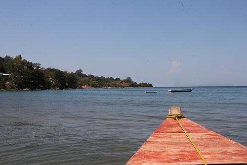 Auf der Nkata Bay in Malawi