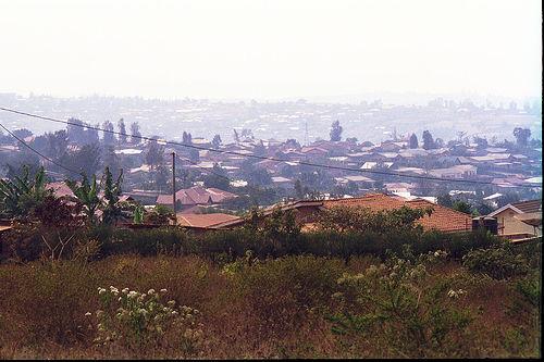 In Ruanda ist es auch schon mal urban