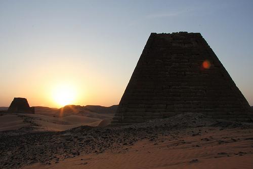 Ganz schön spacig im Sudan