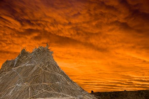 Beeindruckende Szene im Tassili n'Ajjer-Nationalpark