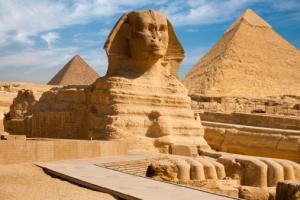 Pyramiden von Gizeh - Sphinx - Ägypten
