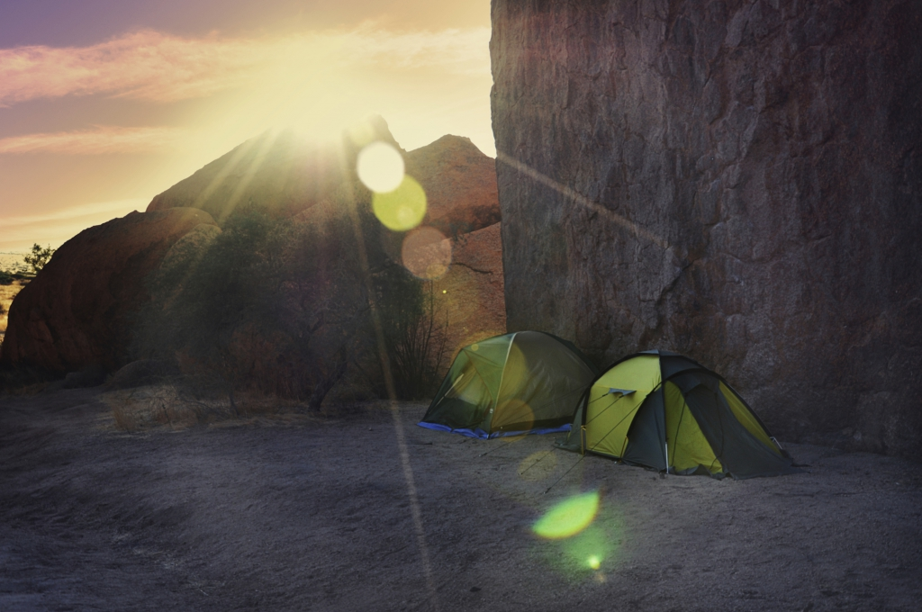 Namibia Reiseinformationen -  Camping