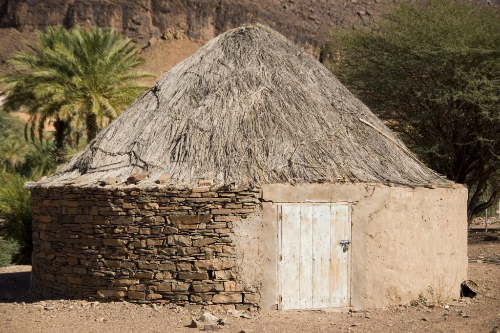 Mauretanien - Reisen - Hütte