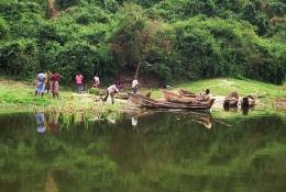 Uganda - Reisen - See