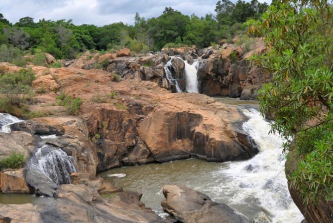 Südafrika - Reisen - Wasserfall
