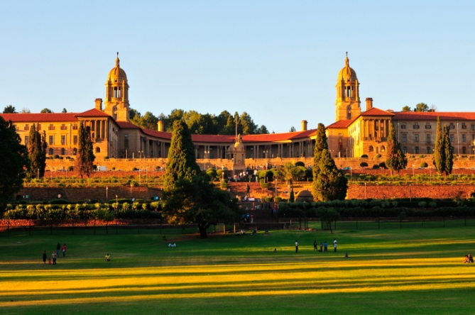 "Südafrika - Reisen - ""Union Buildings"""