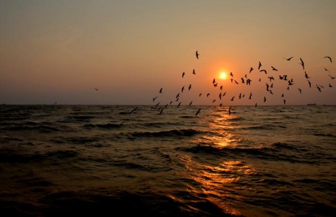 Elfenbeinküste - Reisen - Sonnenuntergang