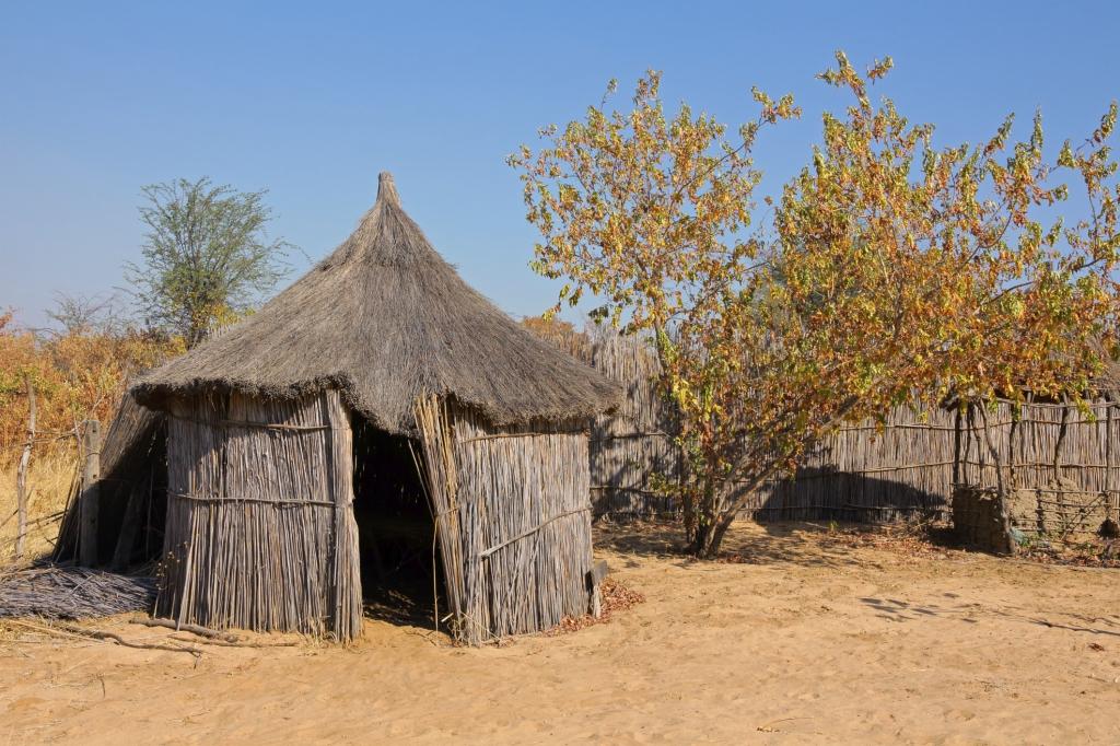 Liberia - Reisen - Hütte