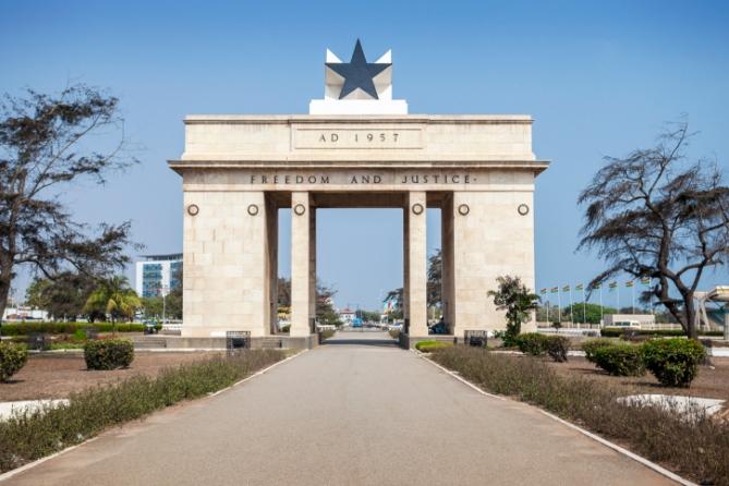 Ghana - Reisen - Denkmal