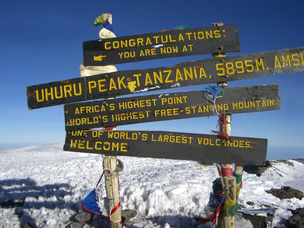 Kilimanjaro- Touring Afrika Kilimanjaro Trekking