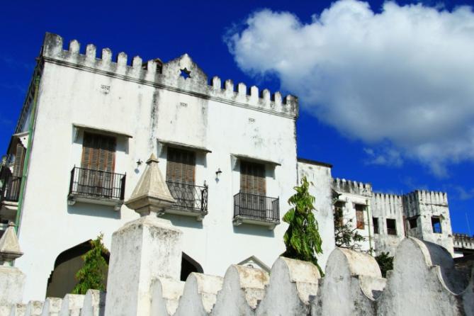 Architektur in Stone Town, Sansibar