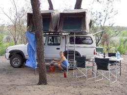 Namibia - Reisebericht - Camping
