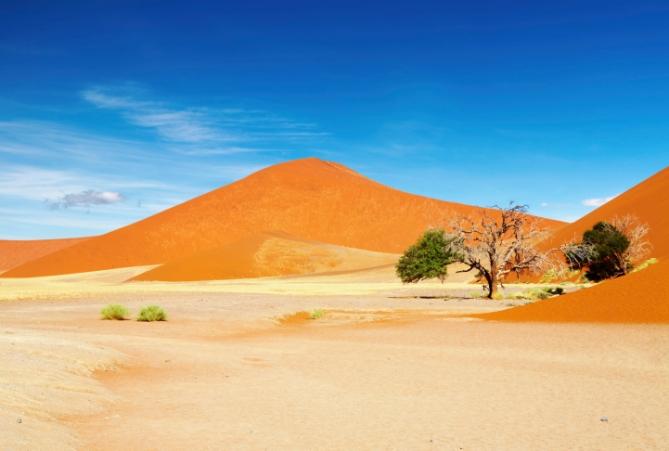 Namibia - Reisebericht - Namib Wüste