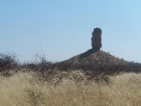 Namibia - Reisen - Versteinerter Wald