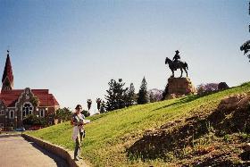 Christuskirche - Reiter - Windhoek