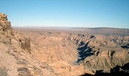 Namibia - Reisen - Fish River Canyon