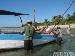 Mosambik - Bazaruto - Nussschale